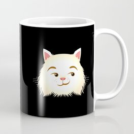 Smirking Cat Coffee Mug