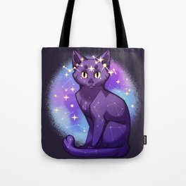 Starry Cat Tote Bag