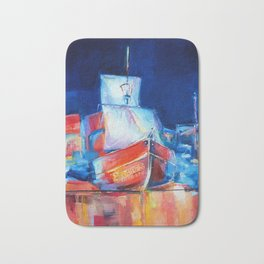 """Pirates"" by Diana Grigoryeva Bath Mat"