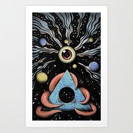 Black Hole Kunstdrucke