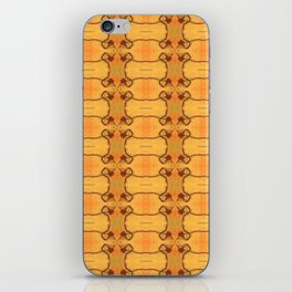 Ebola Tapestry-1 by Alhan Irwin iPhone Skin