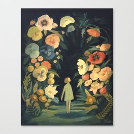The Night Garden Canvas Print