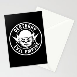 DeathRay Evil Empire Logo Stationery Cards