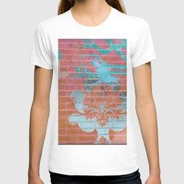 Wall Art Remix Red Ombre T-shirt