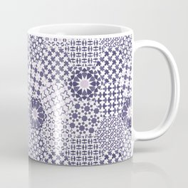 Spanish Tiles of the Alhambra - Violets Coffee Mug