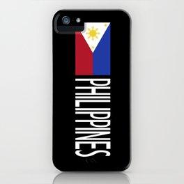Philippines: Filipino Flag & Philipinnes iPhone Case