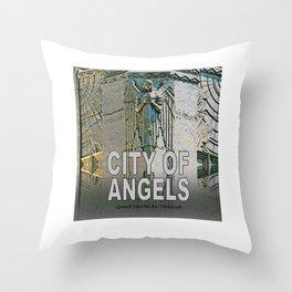 Grand Central Air Terminal Throw Pillow
