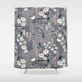 Flower garden 003 Shower Curtain