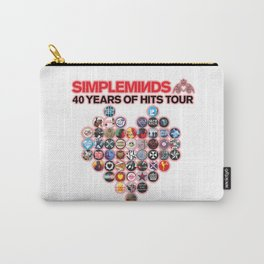 SIMPLE MINDS YEARS OF HITS TOUR 2021, JIM KERR, CHARLIE BURCHILL, GED GRIMES, SARAH BROWN, GORDY GOUDIE, CHERISSE OSEI, BERENICE SCOTT Carry-All Pouch