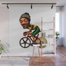 Cannabis Hitman Wall Mural