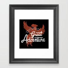 Great Adventure Framed Art Print