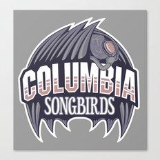 Columbia Songbirds Canvas Print