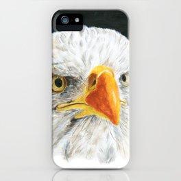 Bald Eagle by Teresa Thompson iPhone Case