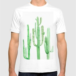 Three Amigos Cacti Green T-shirt