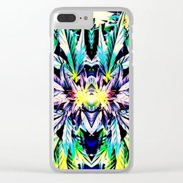 420 Love Clear iPhone Case