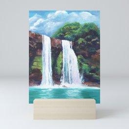 Wailua Falls Mini Art Print