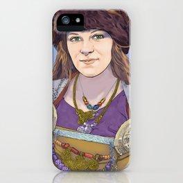 Agnundskali Portrait iPhone Case