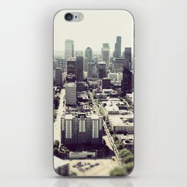 downtown seattle iPhone Skin