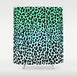 Cool Leopard Shower Curtain