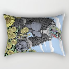 The Unshackled Dream Rectangular Pillow
