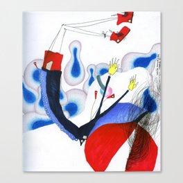 Thanks for Choosing Mid Air. Canvas Print