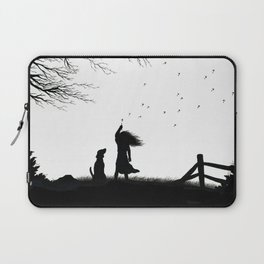In the Wind Laptop Sleeve