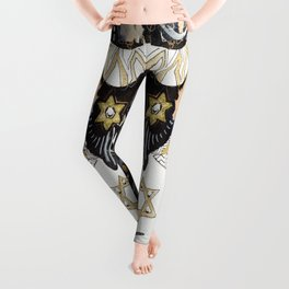 Sleepy Starbird Leggings