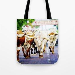 Texas Stockyards Tote Bag