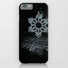A Ripple of Christmas Cheer iPhone Case