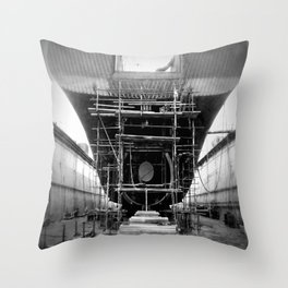 I am shipping up to... Throw Pillow