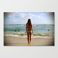 Fear and Trepidation Canvas Print