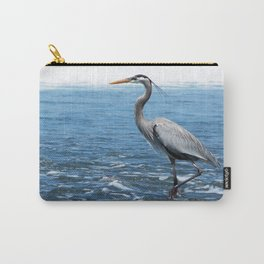 Great Blue Heron on the Pacific Coast in Costa Rica Carry-All Pouch
