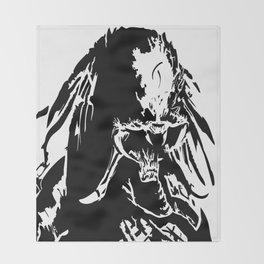 Marked predator Throw Blanket