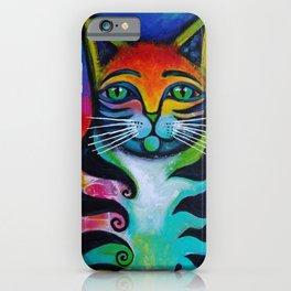 Rainbow Cat iPhone Case