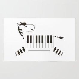 Life is like a piano Rug