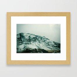 Ice Wall Framed Art Print