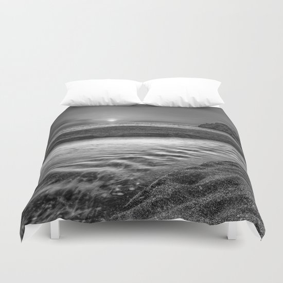 """Just last minute at the beach"" Duvet Cover"
