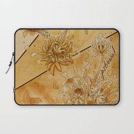 Blooming Tea Laptop Sleeve