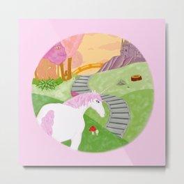 Unicornland Metal Print