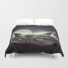 Owl & The Moon Duvet Cover