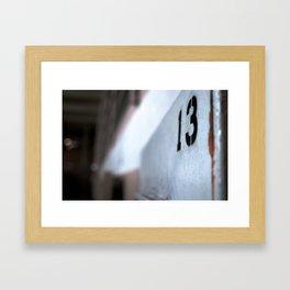 Cell 13 Framed Art Print