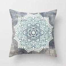Fancy Boho Mandala Throw Pillow