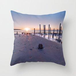 Port Willunga Sunset Throw Pillow