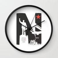 1975 Wall Clocks featuring Neto 11Nov 1975 by O ilusionista