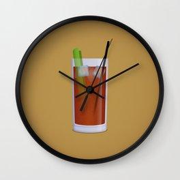Bloody Mary Wall Clock