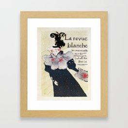 La Revue Blanche Toulouse Lautrec Framed Art Print