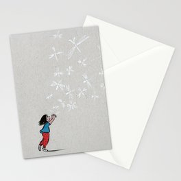 Fly! Be free! Stationery Cards
