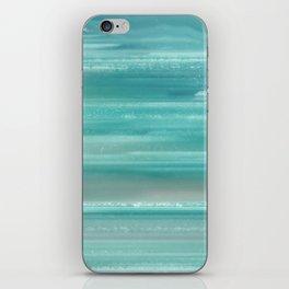 Turquoise Geode iPhone Skin