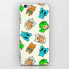 Kawaii Kumas iPhone & iPod Skin