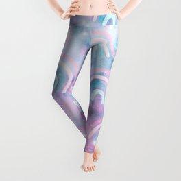 Cosmic Rainbow Dream Pattern #1 (Kids Collection) #decor #art #society6 Leggings